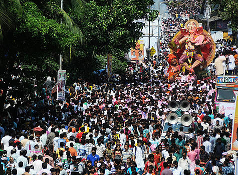 Ganesha Procession Rally by Money Sharma