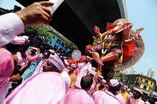 Ganpati Procession by Money Sharma