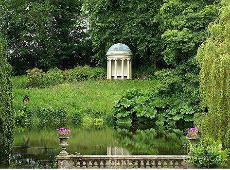 Garden at Hillsborough Castle by Carolyn Burns Bass