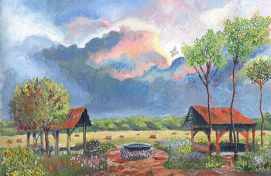 Garden Before the Storm by William Killen