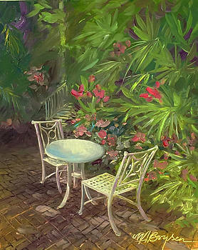 Garden Conversation by Maryann Boysen