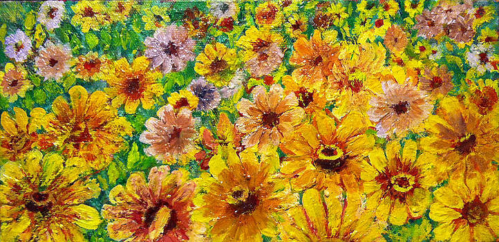 Garden Flowers by Don Thibodeaux