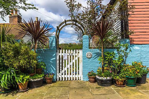 Garden Gate by Michael Lobisch-Delija
