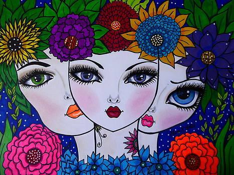 Garden Of Beauty by Maria  RUIZ