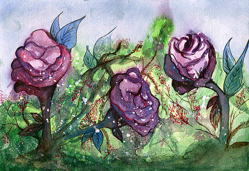 Garden of Roses by Aline Reolon