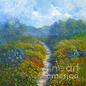 Garden Path by Julia Blackler