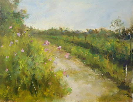 Garden Path by Joan Sicignano