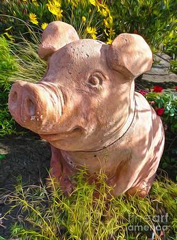 Gregory Dyer - Garden Pig