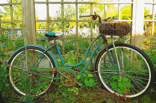 Garden Scene by Denise Darby