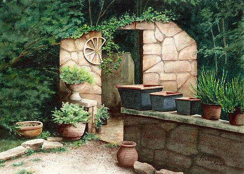 Garden Shed Ruins by Penny Johnson
