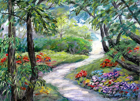 Garden Walk by Trudy Morris
