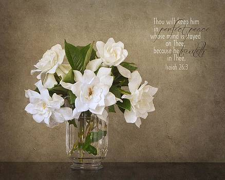 Gardenias I by Mary Hershberger