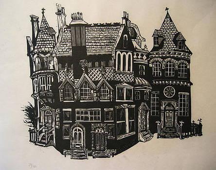 Gargoyle and Five Doors by Edward McCluney