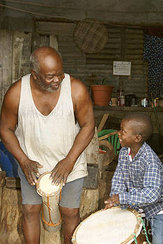 John  Mitchell - Garifuna Musicians Honduras