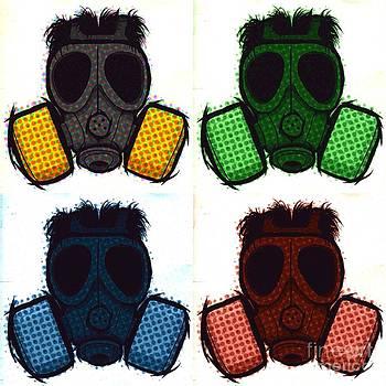 Gas mask pop by Shane B