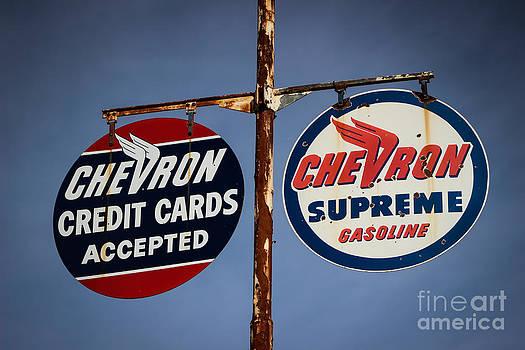 Gasoline Signs by Dan Julien