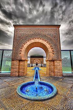 Gate to Moroccan Palace by Sham Osman