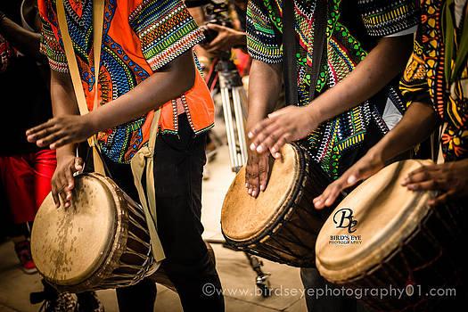African Drumming by Jaye Tolbert