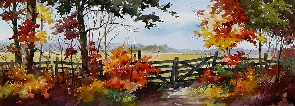 Gateway To Fall by Art Scholz