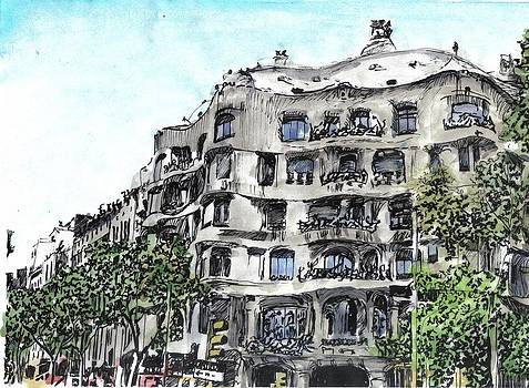 Gaudi by Marta Gawronska
