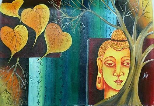 Gautam Buddha by Sonam Shine