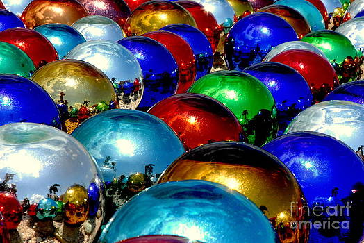 Gazeing ball reflections by Michael Rucci