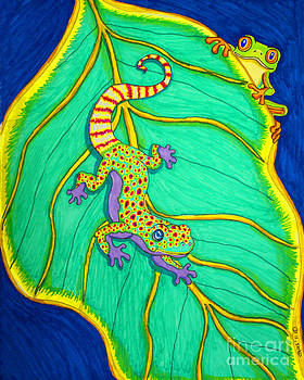 Nick Gustafson - Gecko and Frog