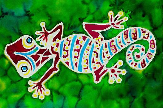 Gecko Rojo by Kelly     ZumBerge