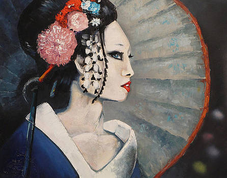 Geisha One by James Strohmeyer