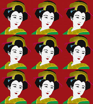 Kate Farrant - Geisha Pattern