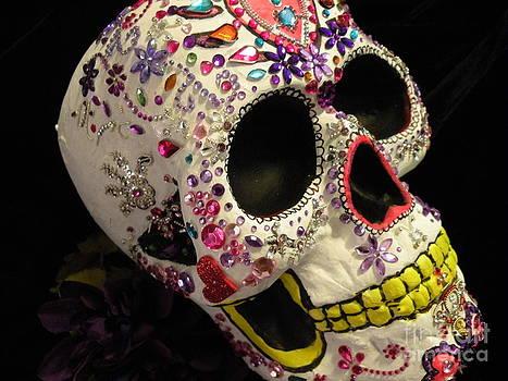 Gem Skull by Rita H Ireland