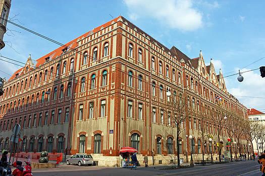 General Post office Zagreb by Borislav Marinic
