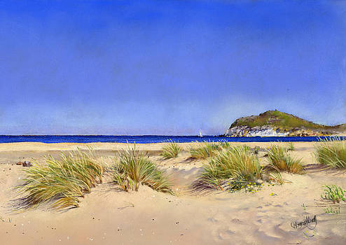 Genoveses beach by Margaret Merry