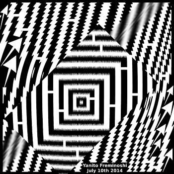 Geometric Maze by Yanito Freminoshi