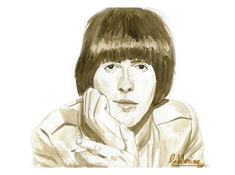 George Harrison by David Iglesias