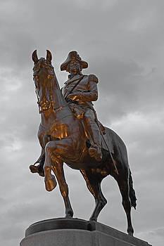 George Washington at sunset by Gordon  Grimwade