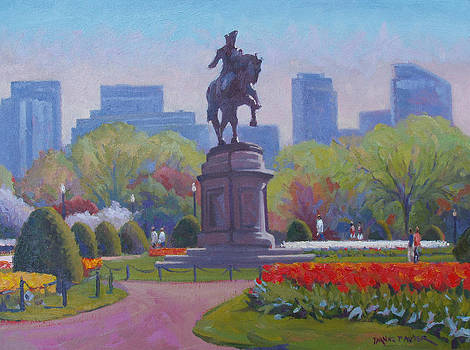 George Washington Statue by Dianne Panarelli Miller