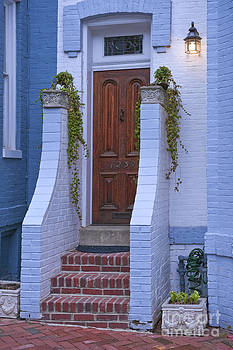 David Zanzinger - Georgetown Washington D.C. Historic Doorway