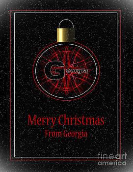 Georgia Merry Christmas by Eva Thomas
