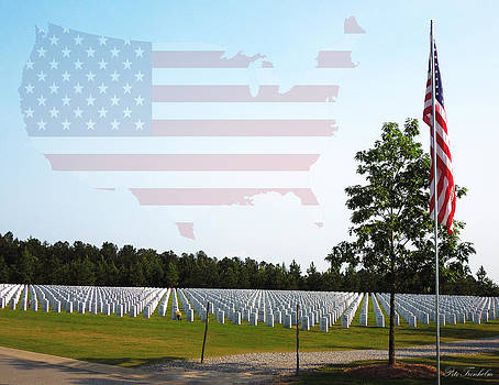 Georgia National Cemetery w/Map by Pete Trenholm