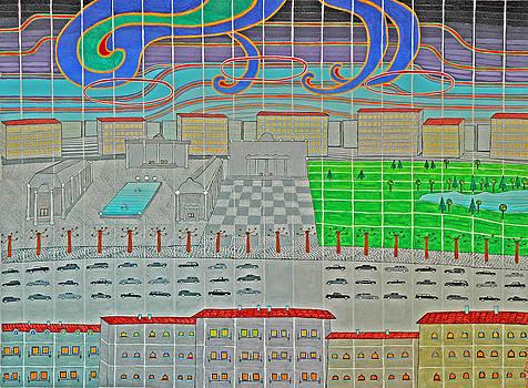German Cityscape by Jesse Jackson Brown