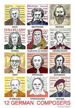 German composers by Paul Helm
