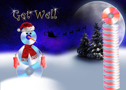 Jeanette K - Get Well CD Snowman