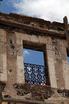 Ghost Hotel Real de Catorce Mexico by Linda Queally