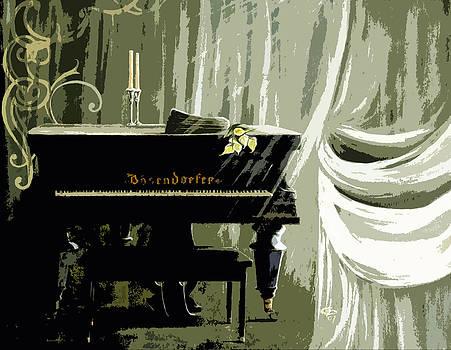 Ghost Piano by Christine Maeda