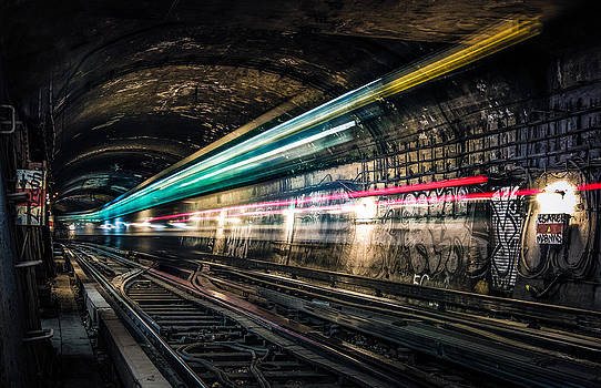 Ghost train by Xavier Liard
