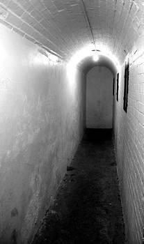 Marilyn Wilson - Ghostly Corridor - bw