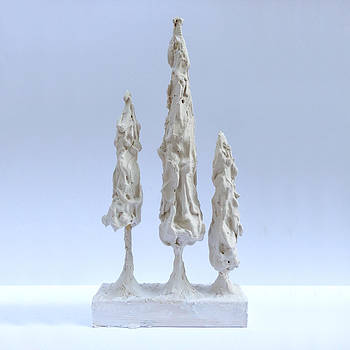 Giacometti Style Christmas Tree by E Gibbons