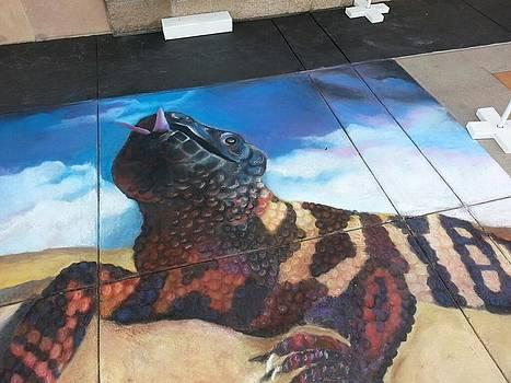 Gila Monster 2 by Marisa Salazar