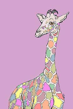 Ginger the Giraffe by Tony Clark